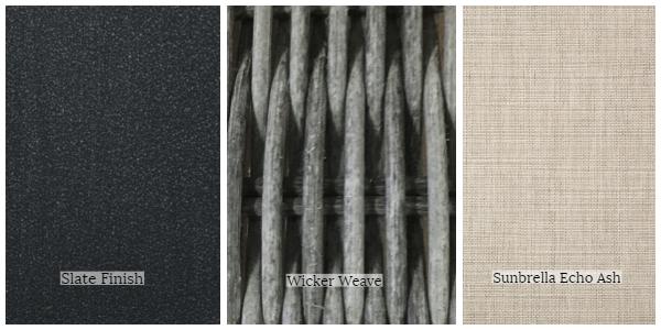 Portica Malibu Fabric Frame Swatch