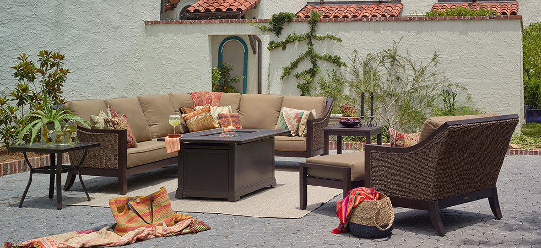 Portica Biscay Outdoor Seating