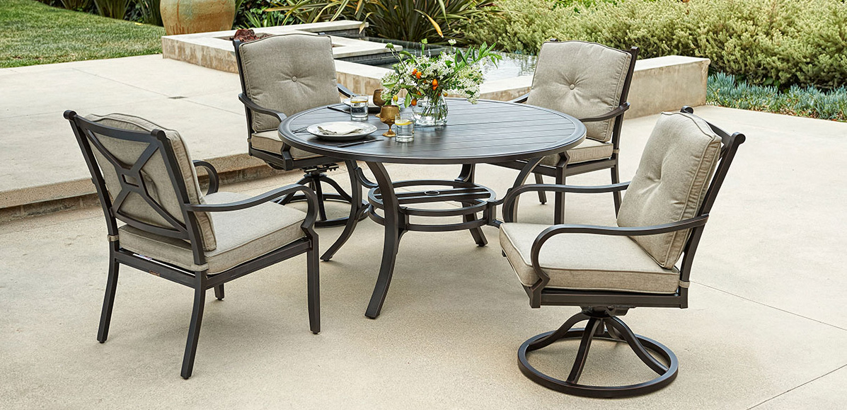 Portica Laurel Cushion Dining Set