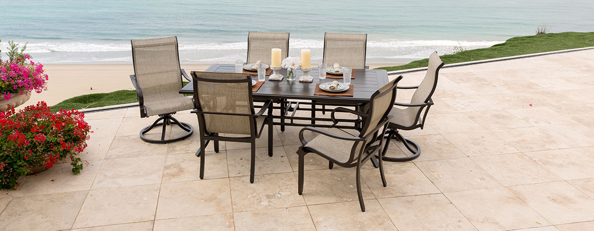Portica Laurel Sling Dining Set
