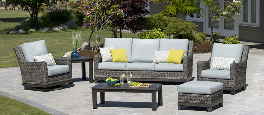 Ratana Boston Collection Luxury Patio Furniture Louisiana Casual