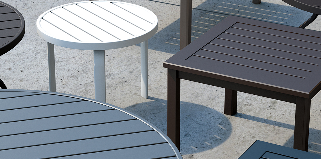 Homecrest Breeze Outdoor Tables Collection