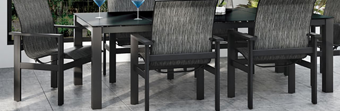 Homecrest Mode Outdoor Table Collection