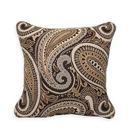 Inspired Visions Inspired Visions 18 x 18 Inch Royce Walnut Outdoor Pillow