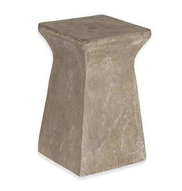 Inspired Visions Inspired Visions Astoria Cast Stone 17 Inch Side Table