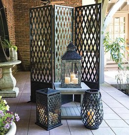 Inspired Visions Inspired Visions Garden Gate Square Lantern
