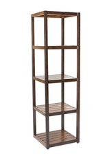 Inspired Visions Inspired Visions 65 Inch Narrow Parson Shelf with 4 Shelves