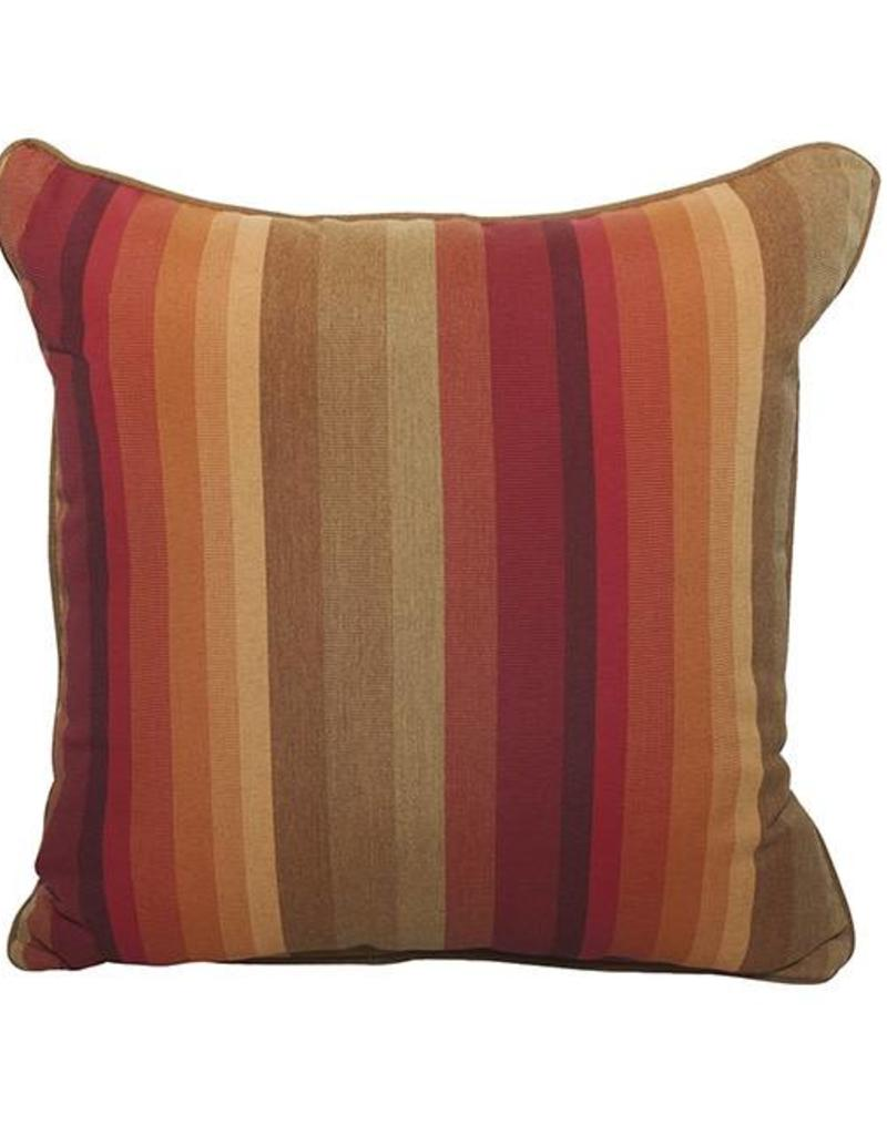 Inspired Visions Inspired Visions 18 x 18 Inch Astoria Sunset Outdoor Pillow in Sunbrella Astoria Sunset