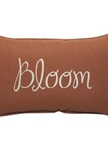 Inspired Visions Inspired Visions 13 x 20 Inch Bloom Outdoor Pillow in Sunbrella Canvas Brick