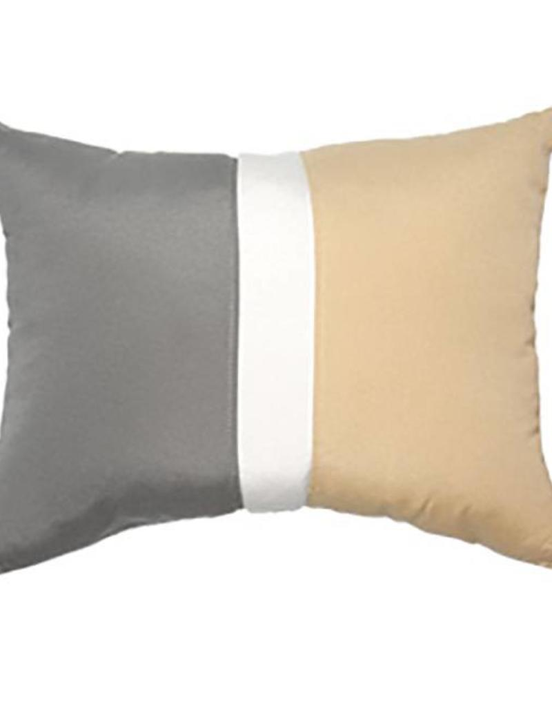 Inspired Visions Inspired Visions 16 x 20 Inch Colorblock Outdoor Pillow in Sunbrella