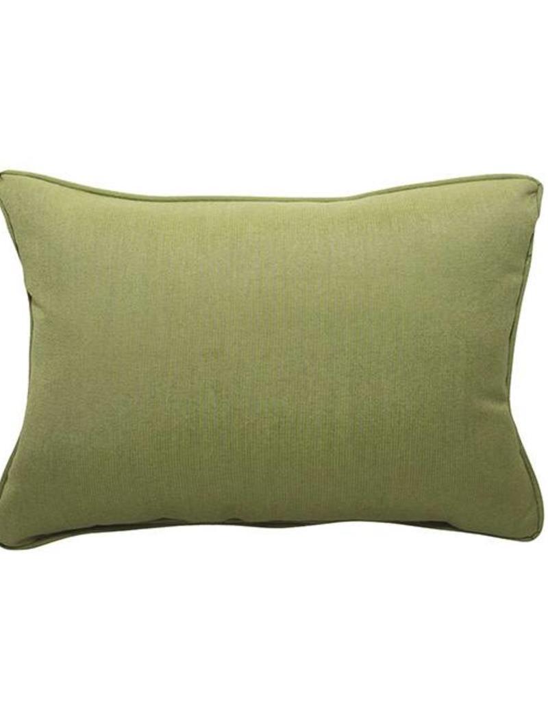 Inspired Visions Inspired Visions 12 x 16 Inch Spectrum Cilantro Outdoor Pillow in Sunbrella Spectrum Cilantro