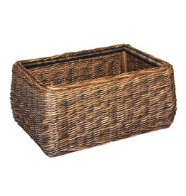 Inspired Visions Inspired Visions All-Weather Wicker 22 Inch Extra Large Woven Basket in Newport Twisted Wicker