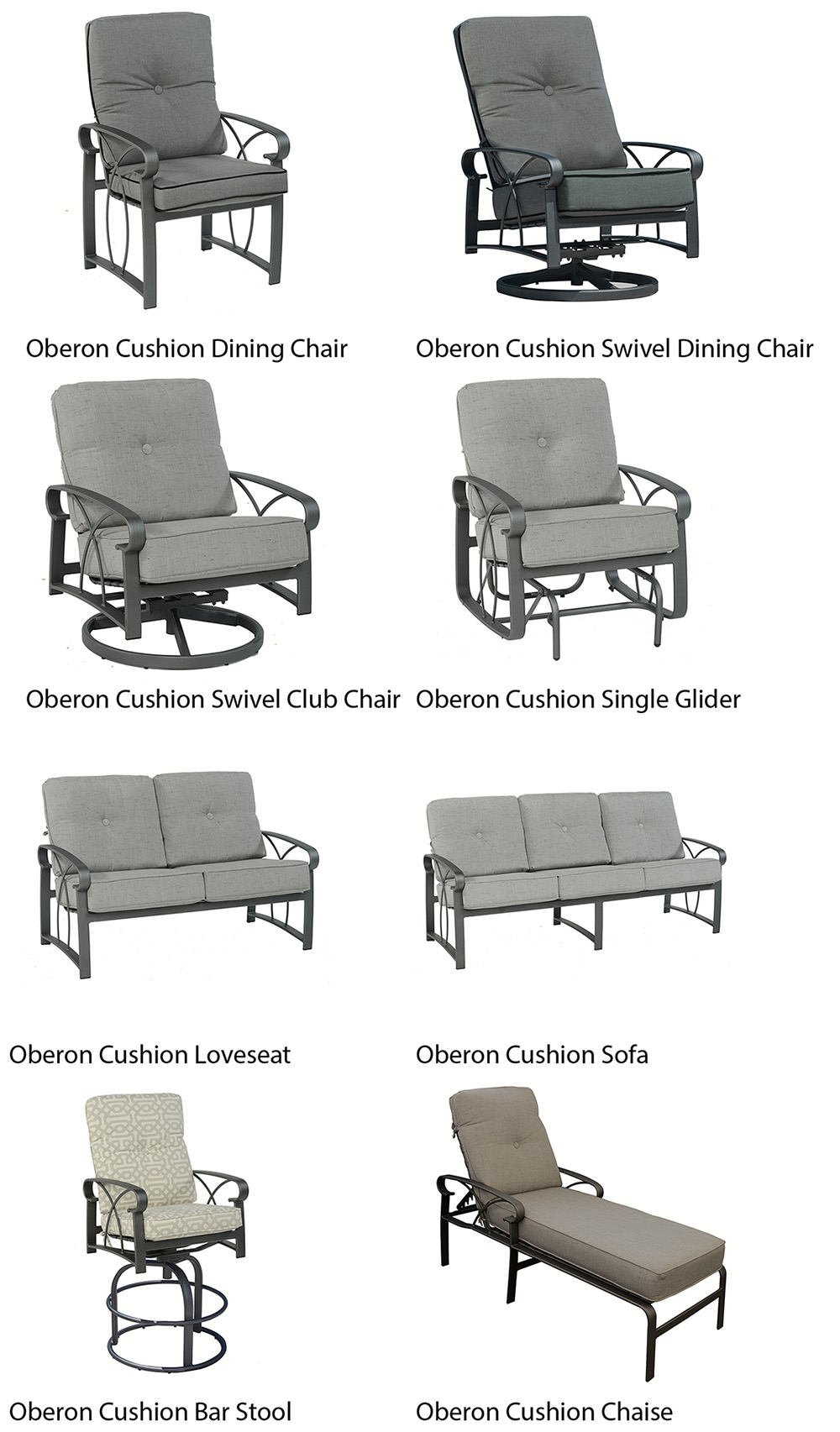 Outdoor by Design Oberon Patio Furniture