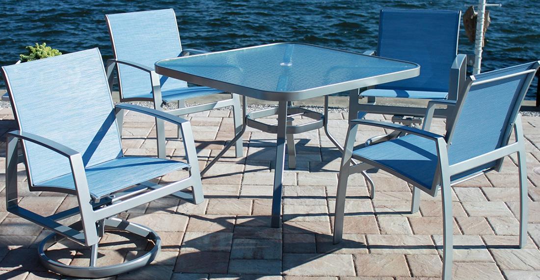 Outdoor by Design Trek Patio Dining Set