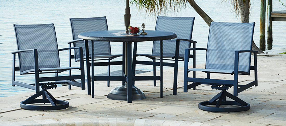 Outdoor by Design Luxe Outdoor Dining Set