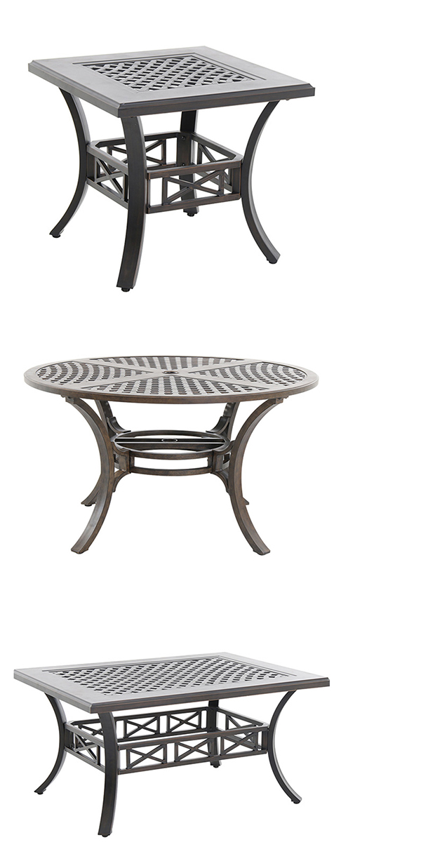 Portica by Sunvilla Cast Aluminum Patio Table