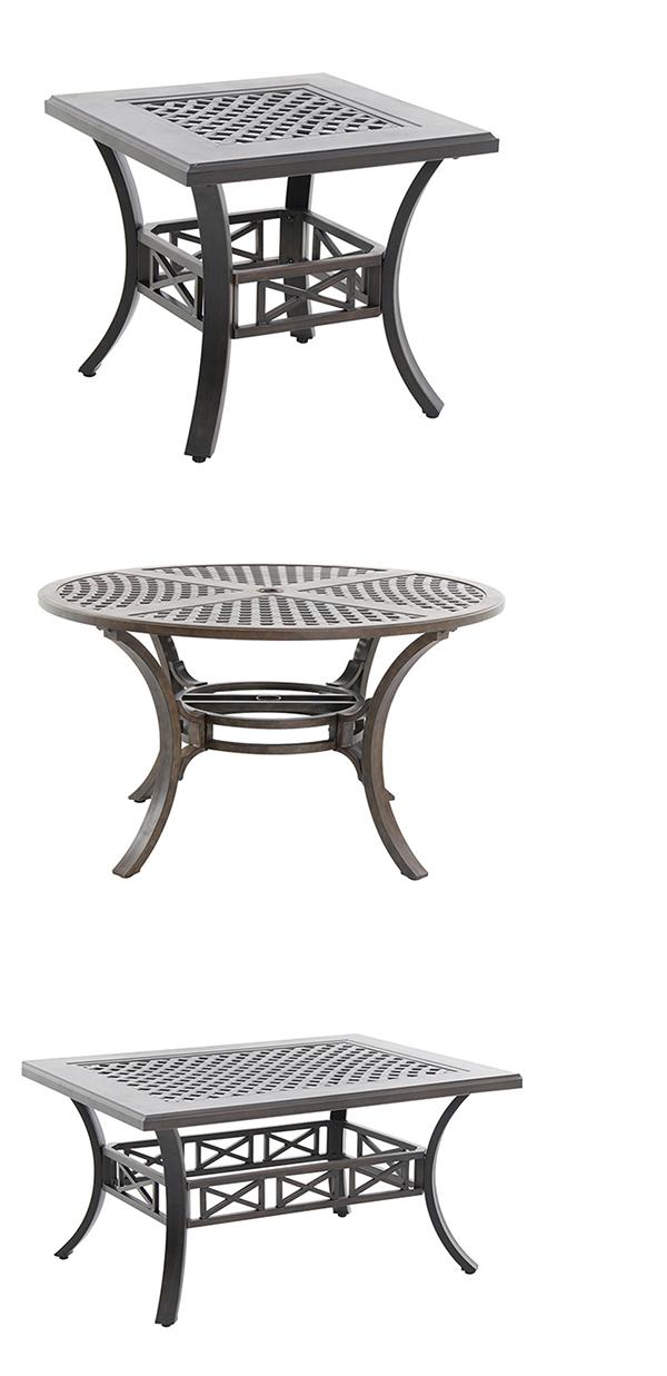 Portica by Sunvilla Cast Aluminum Patio Table