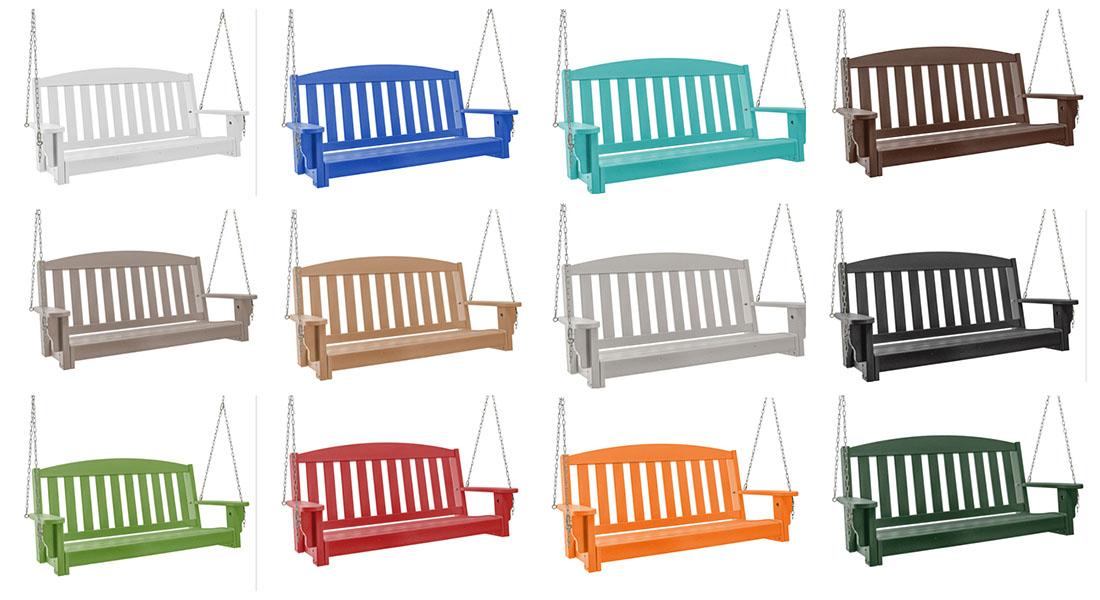 Pawleys Island Bench Porch Swing