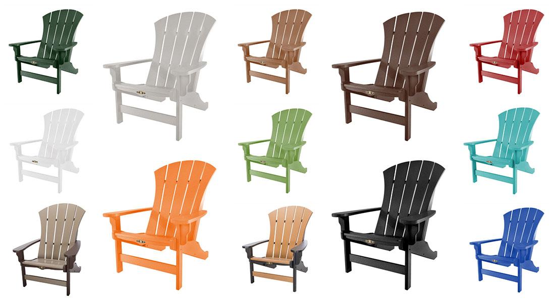 Pawleys Island Sunrise Adirondack Chairs