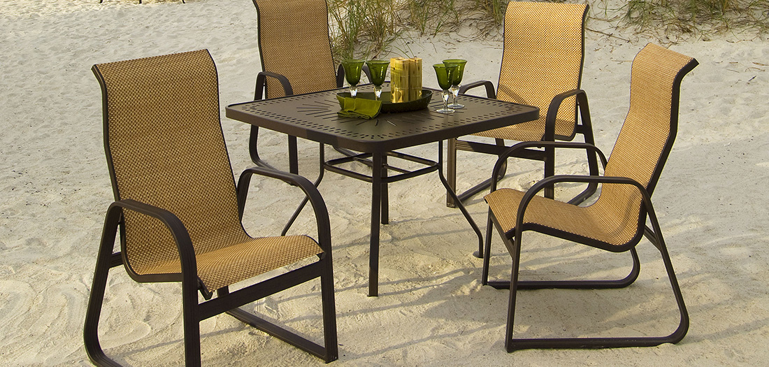 Windward Cabo Sling Patio Dining Set