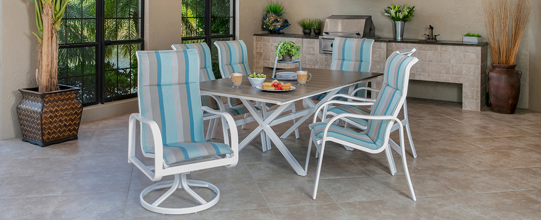 Windward Sonata Sling Outdoor Dining Furniture
