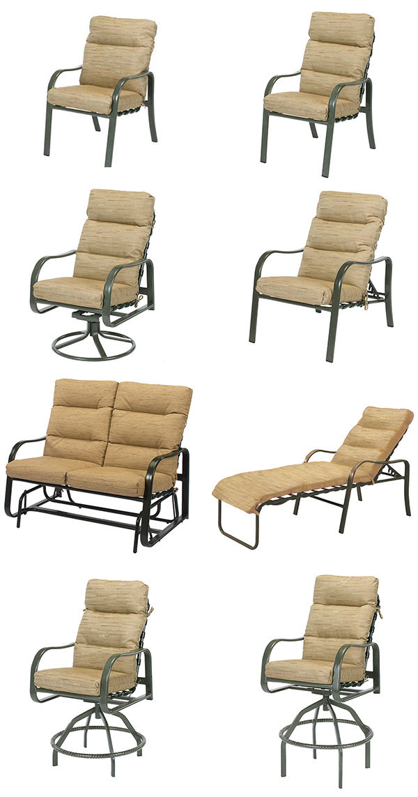 Windward Sonata Cushion Patio Dining Furniture