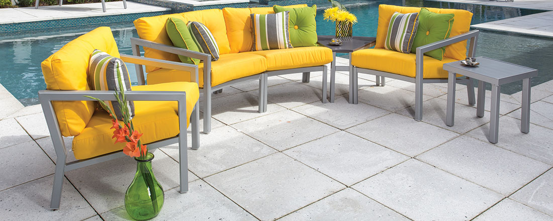 Windward Madrid Outdoor Sectional Seating