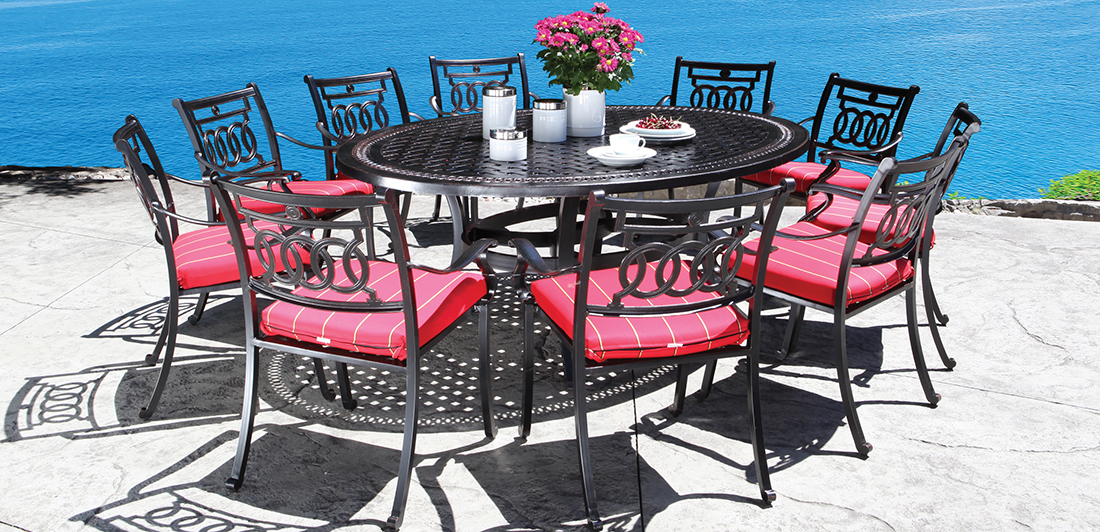 CabanaCoast Verona Cast Aluminum Outdoor Furniture