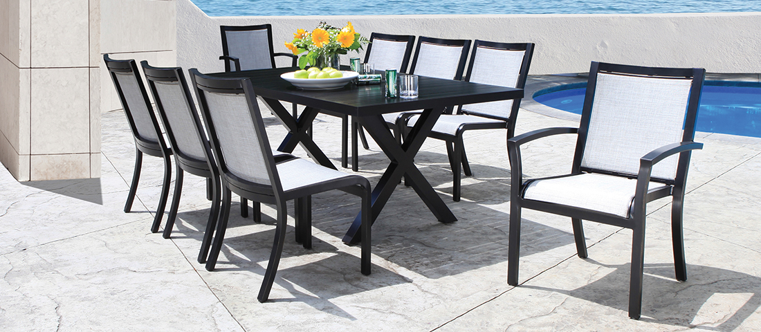 CabanaCoast Millcroft Sling Patio Dining Furniture