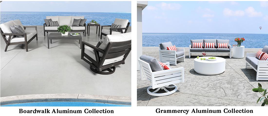 CabanaCoast Boardwalk Aluminum Patio Furniture