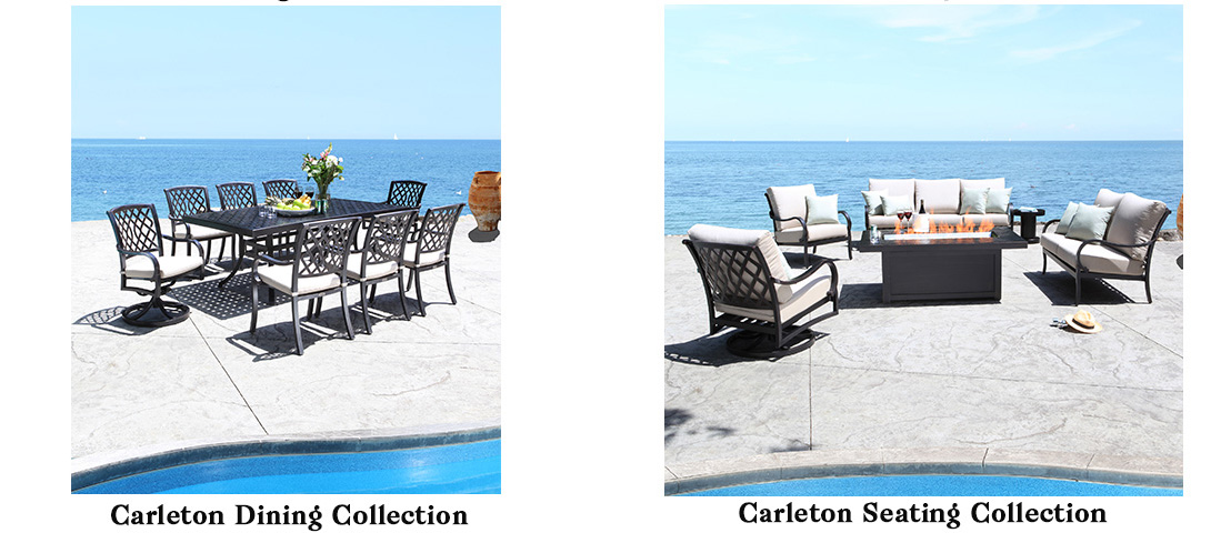 CabanaCoast Carleton Cast Aluminum Patio Furniture