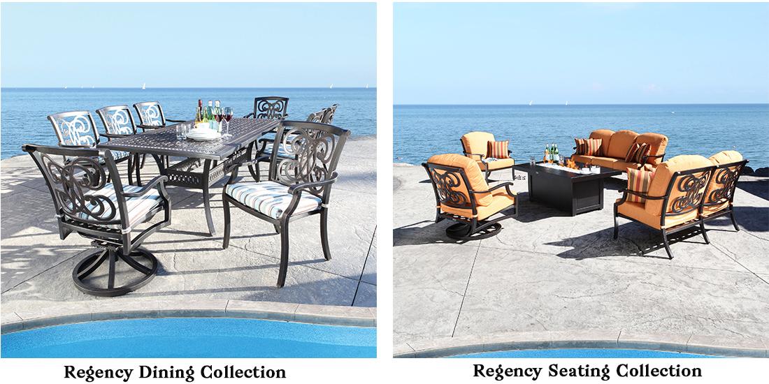 CabanaCoast Cast Aluminum Patio Furniture