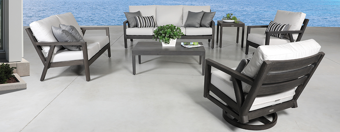 Cabanacoast Boardwalk Outdoor Patio Furniture Seating