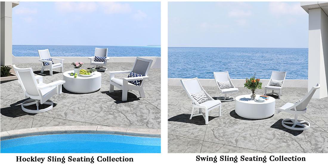 CabanaCoast Hockly Swing Sling Patio Furniture