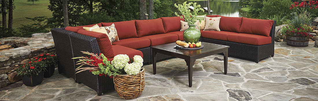Inspired Visions Siesta Outdoor Sectional Collection