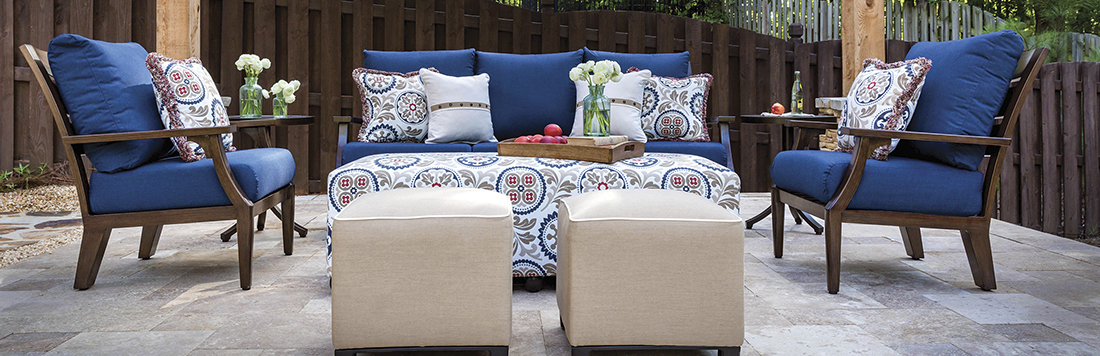 Inspired Visions by Peak Season Bungalow Patio Furniture Collection