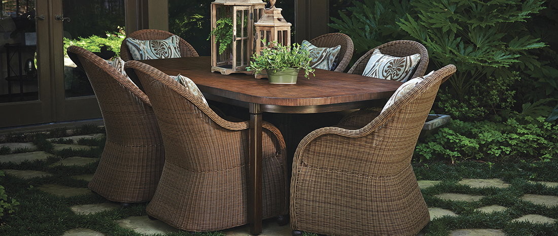 Inspired Visions by Peak Season Wynnwood Patio Dining Collection
