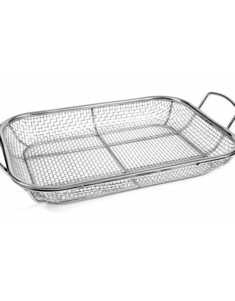 Charcoal Companion Charcoal Companion Stainless Wire Mesh Roasting Pan 14.75 in. x 11 in.