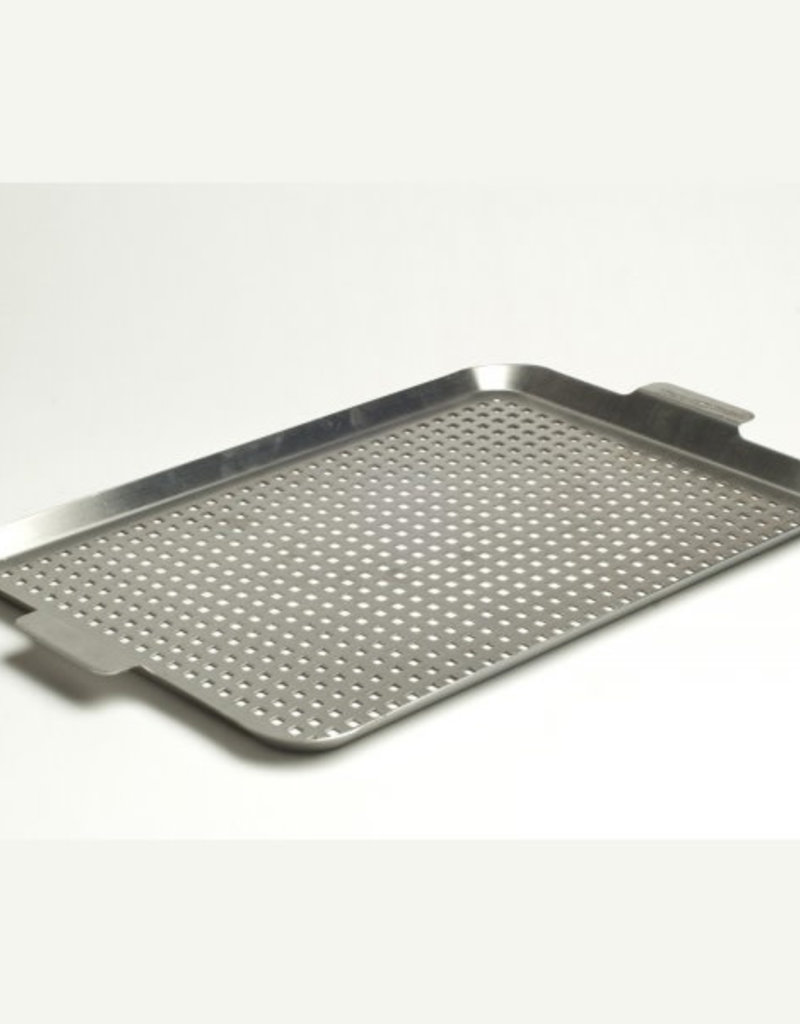 Charcoal Companion Charcoal Companion Stainless Grid with Side Handles - Large 17.5'' x 12''