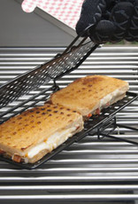 Charcoal Companion Charcoal Companion Non-Stick Grilled Cheese Basket & Book Set