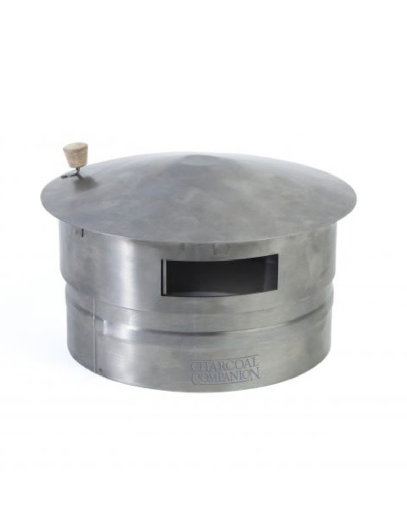 Charcoal Companion Kamado Chimney Cap