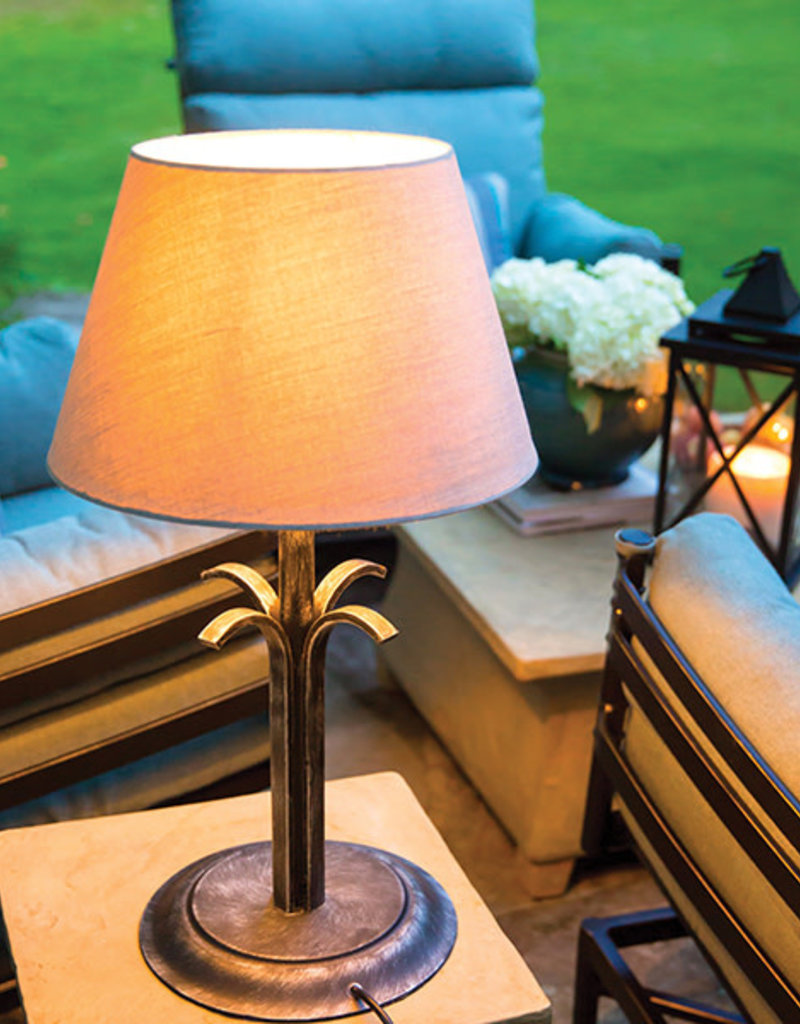 Inspired Visions Inspired Visions McDaniel Table Lamp with Cast Ash Shade