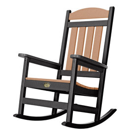 Pawleys Island Pawleys Island Sunrise Porch Rocker - Black and Cedar