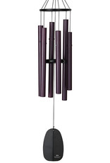 Woodstock Woodstock Bells of Paradise Wind Chime Medium Burgundy