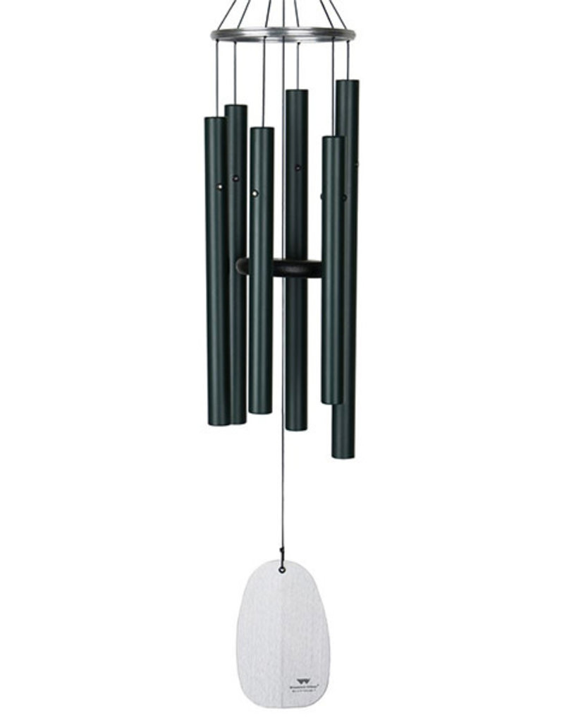 Woodstock Woodstock Bells of Paradise Wind Chime Medium Rainforest Green