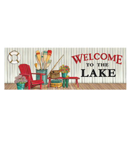 Welcome to the Lake Signature Sign