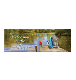 River Dock Signature Sign