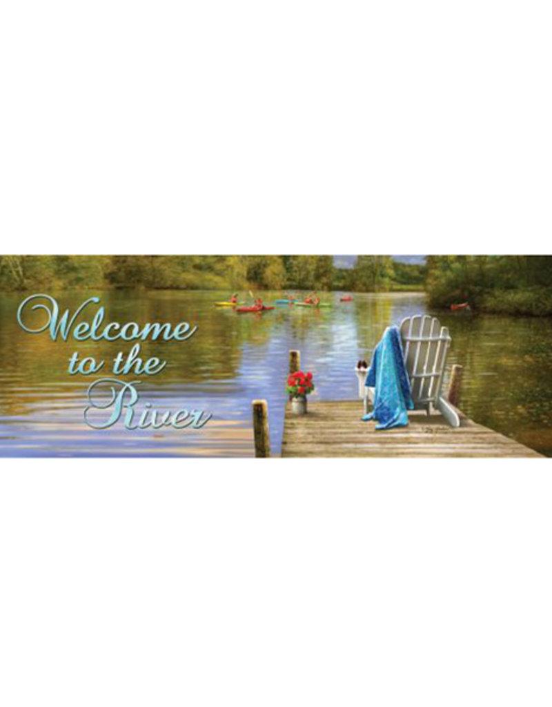 River Dock Signature Sign