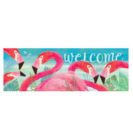 Flamingo Floral Signature Sign