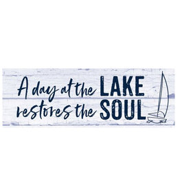 Day at the Lake Signature Sign